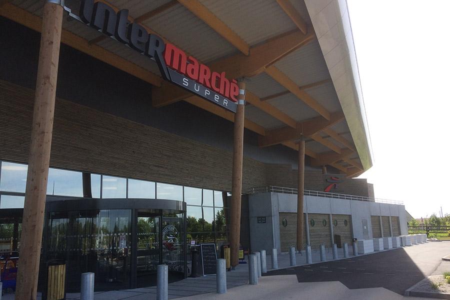 Sagir Maçonnerie Générale Béton Armé Centre Commercial INTERMARCHE Le Mêle Sur Sarthe